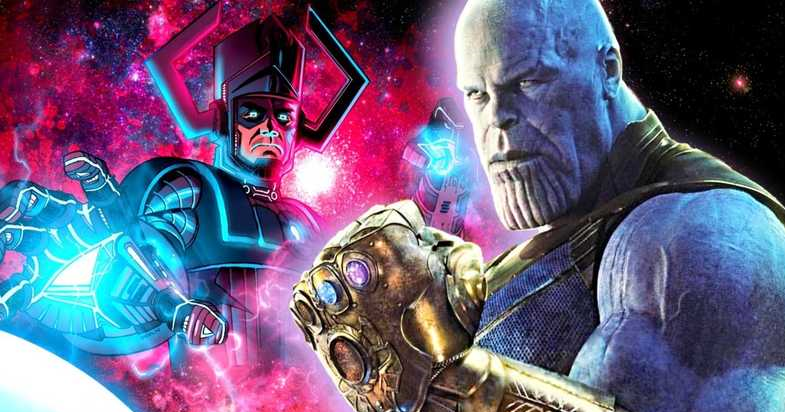 GALACTUS - 5 superhero more powerful than Captain Marvel that we would like to see arriving in the MCU
